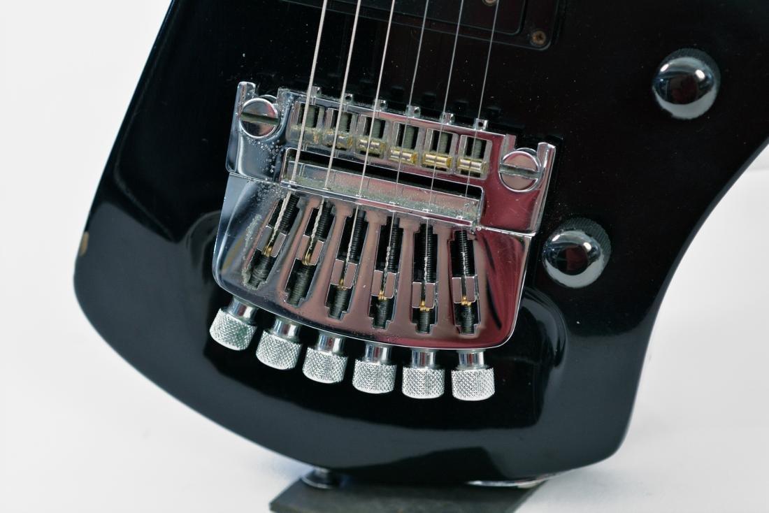 Johnny Winter Black Erlewine Lazer Guitar - 7