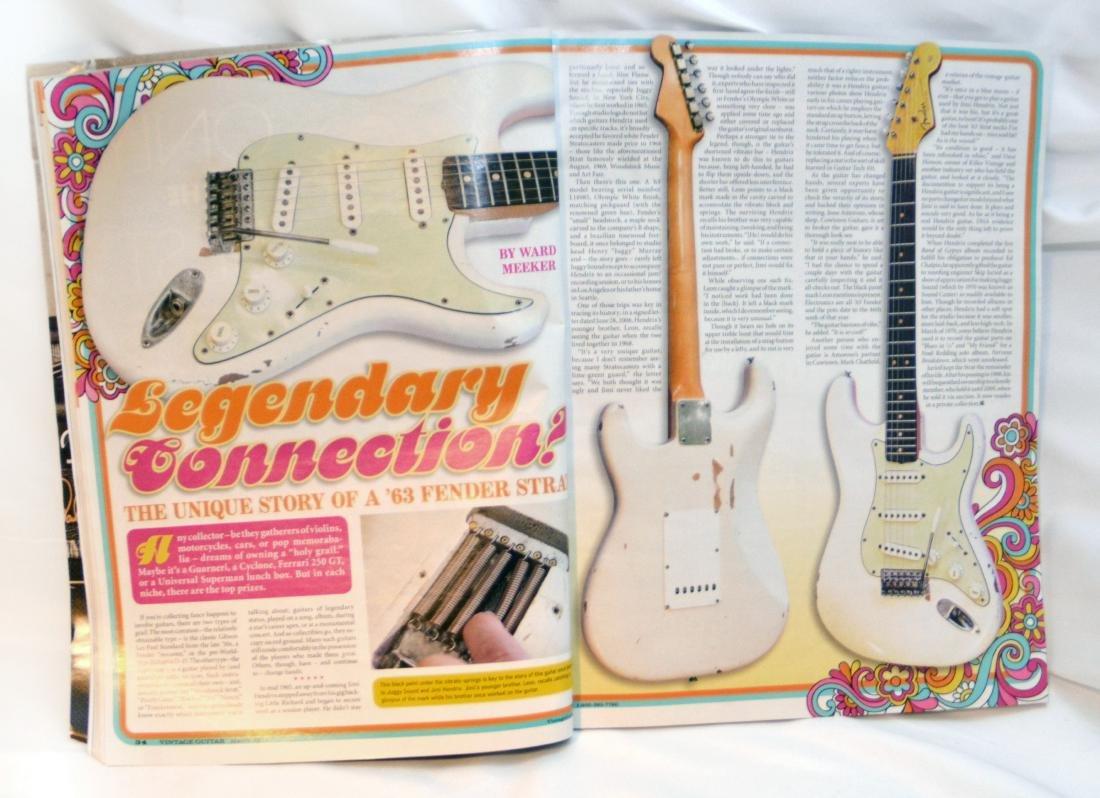 Jimi Hendrix's 1963 Fender Stratocaster - 6