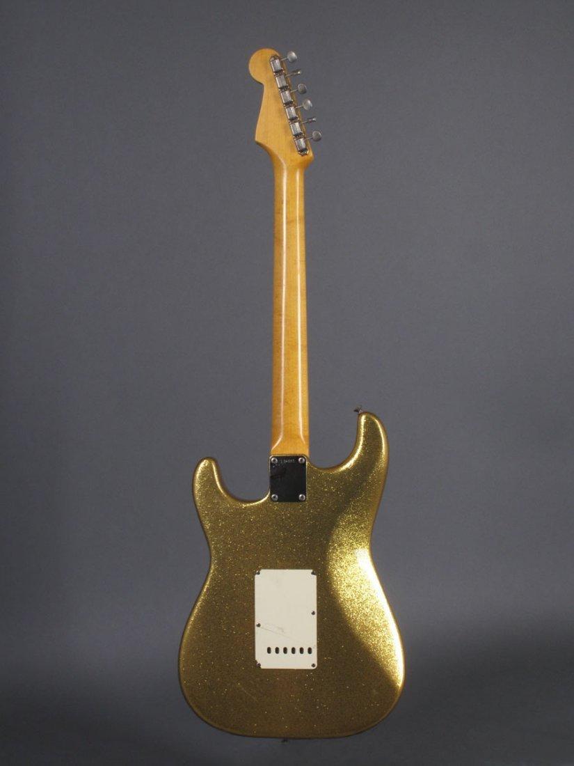 Bob Dylan's 1962 Gold Sparkle Fender Stratocaster - 3