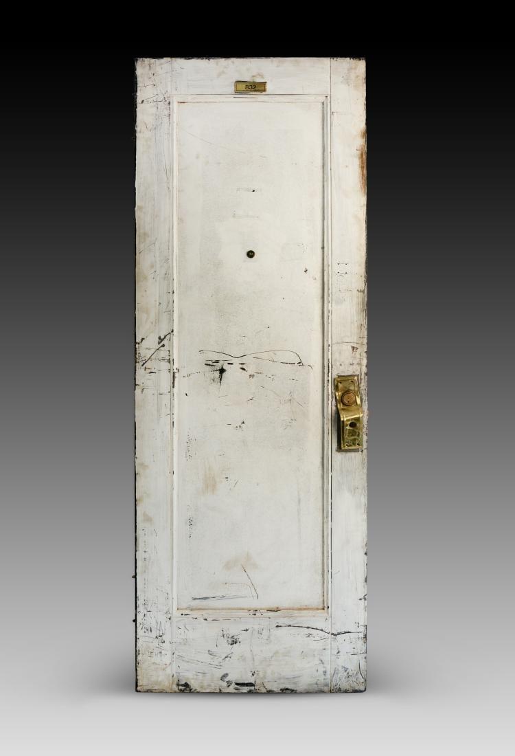 Chelsea Hotel Door Room #832