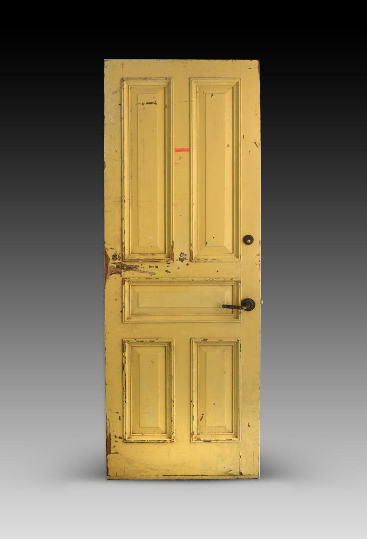 Chelsea Hotel Door, Yellow