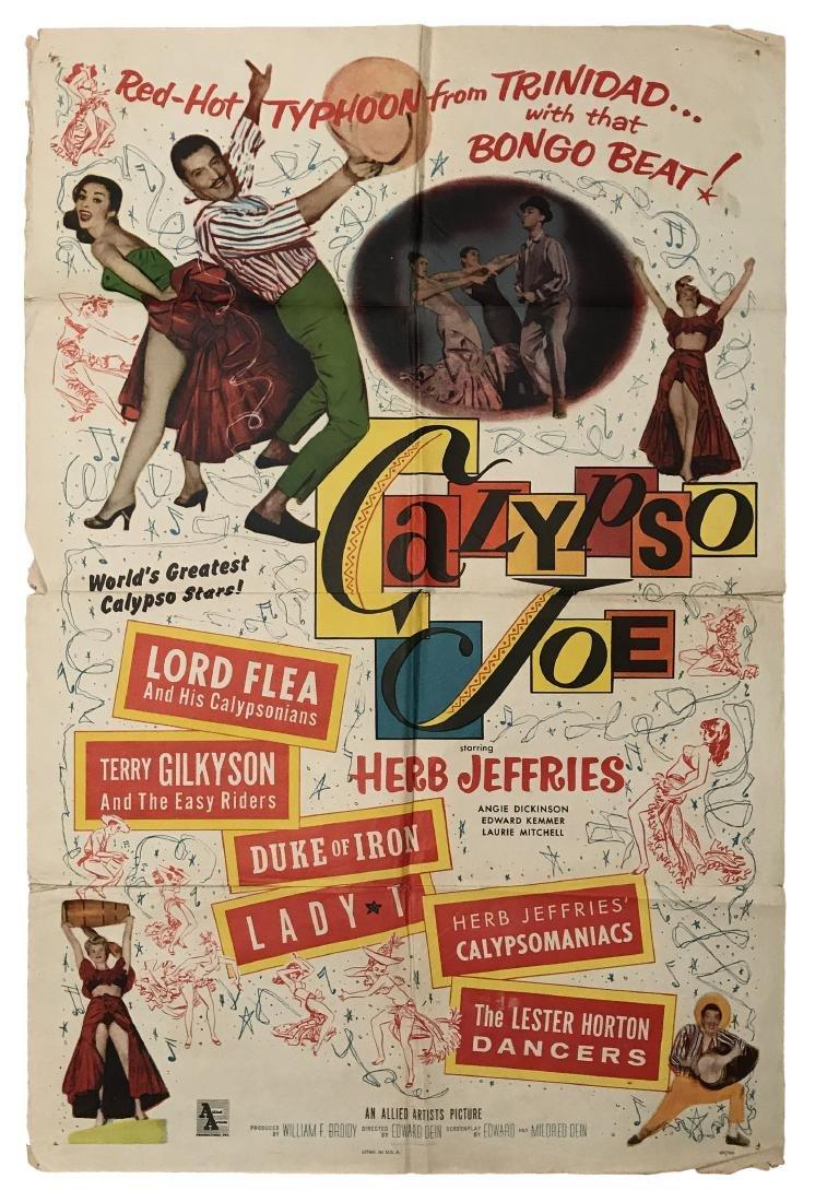 Calypso Joe Movie Poster, 1949