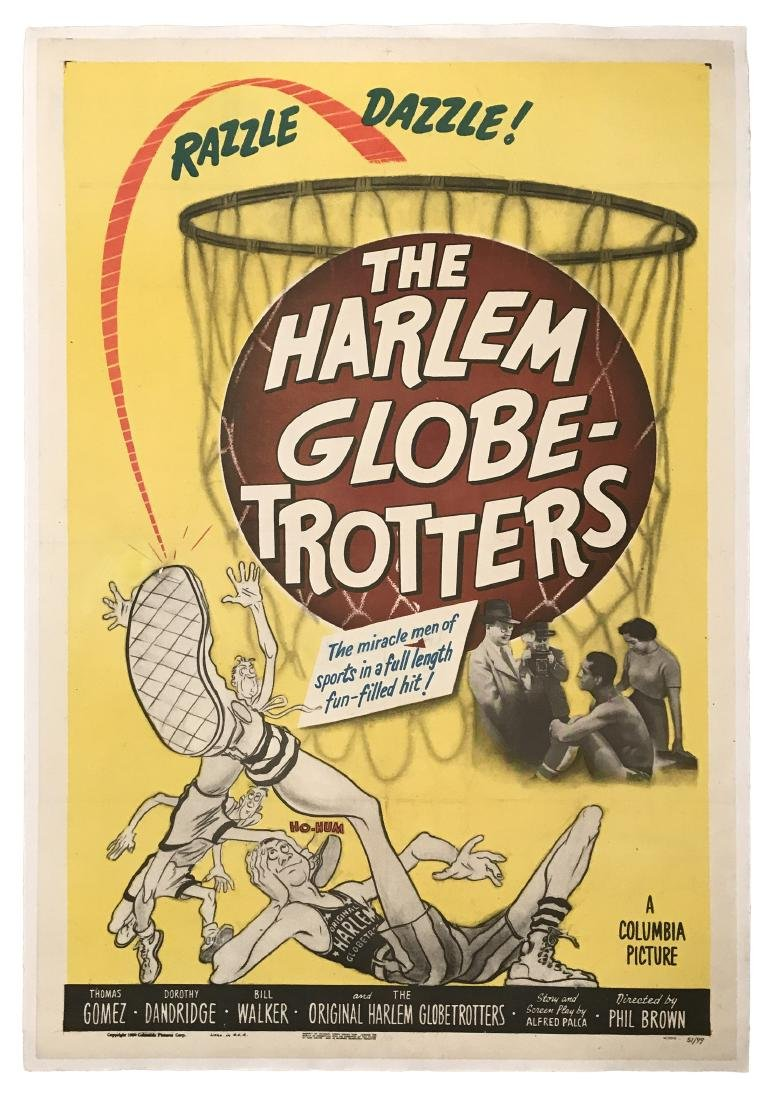 The Harlem Globetrotters Movie Poster 1951