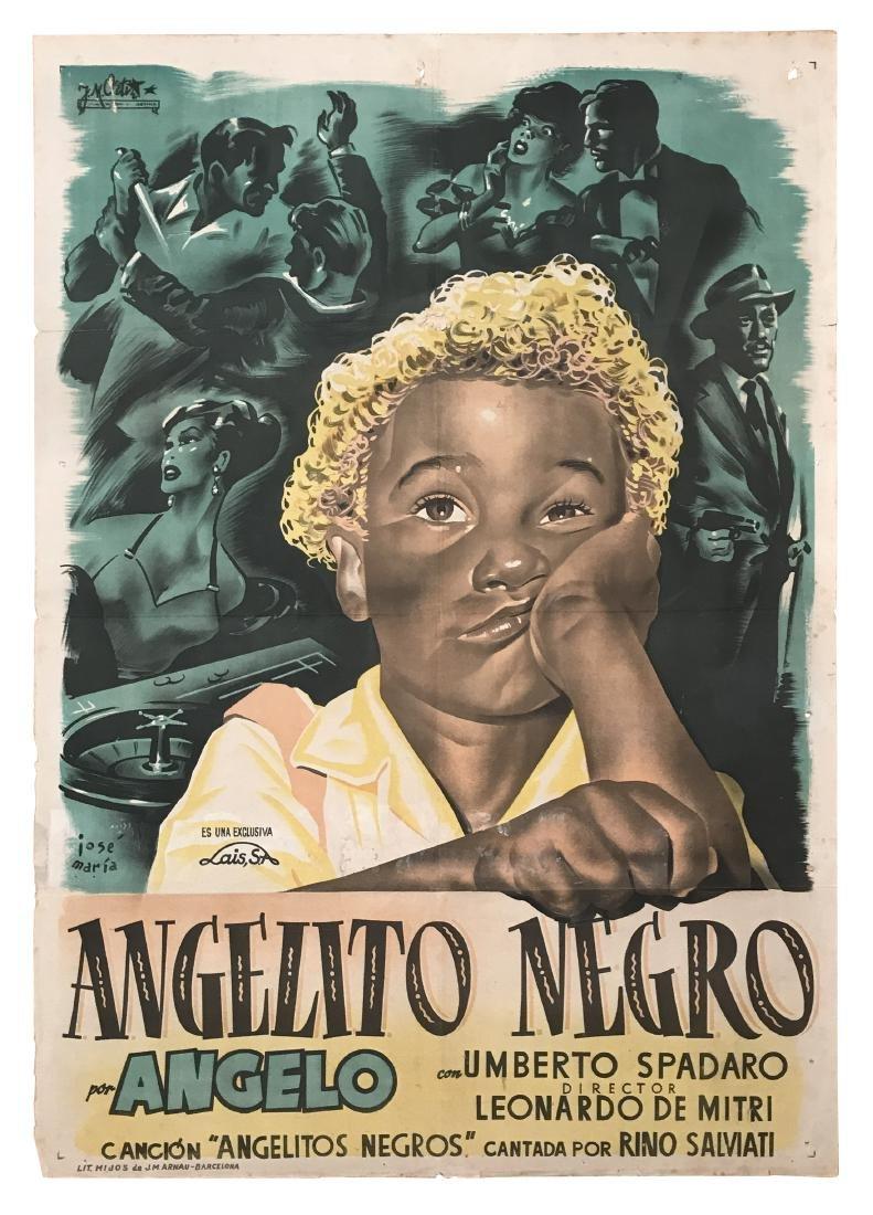 Angelito Negro Movie Poster 1950
