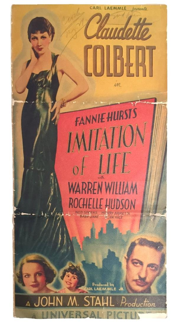 Imitation of Life, Vintage Promo Poster & lobby card