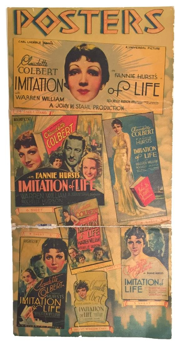Imitation of Life, Vintage Promo Poster & lobby card - 2