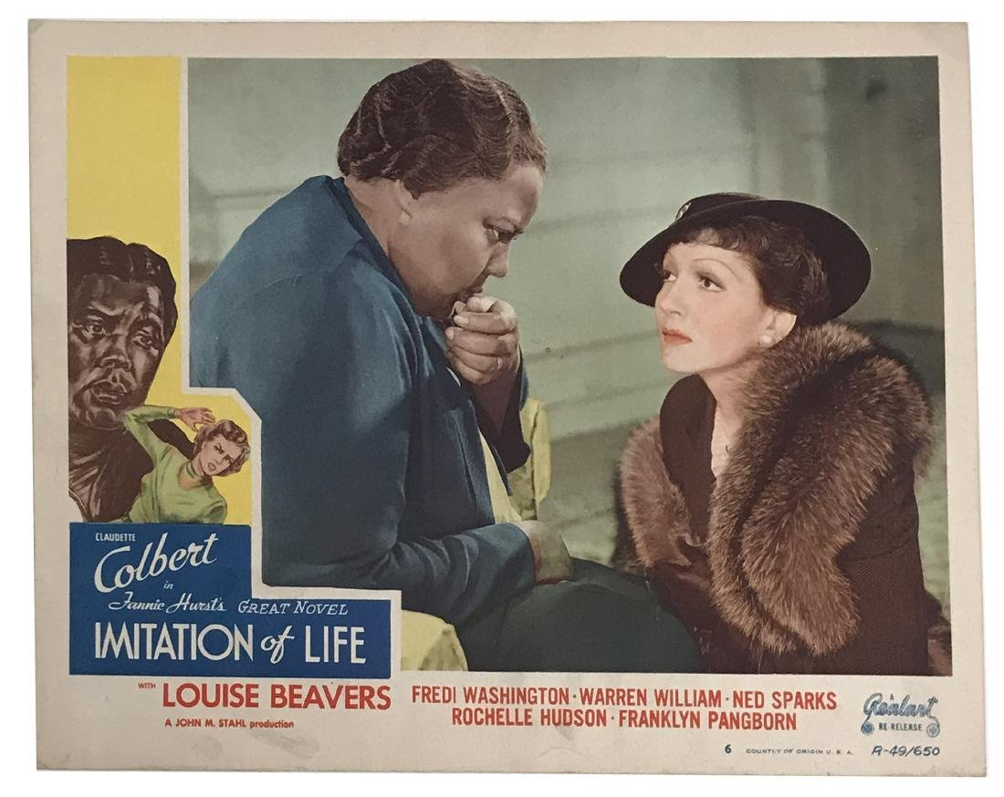 Imitation of Life, Vintage Promo Poster & lobby card - 3