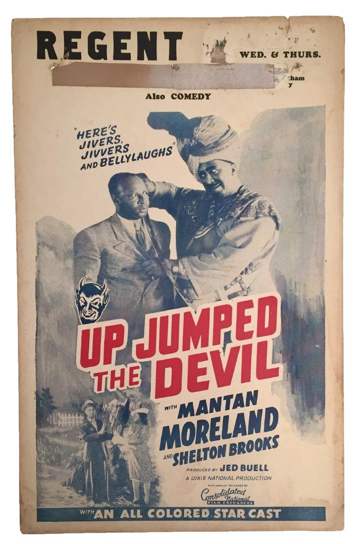 Up Jumped the Devil Window Card