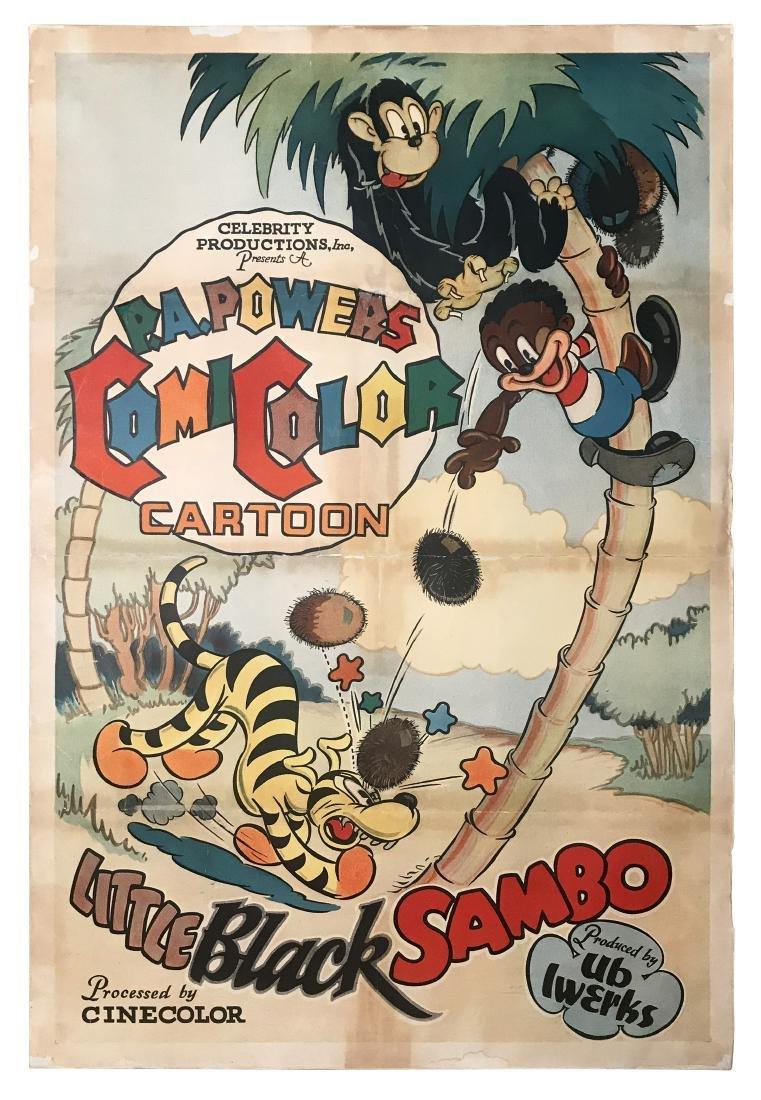 Little Black Sambo Movie Poster, 1935