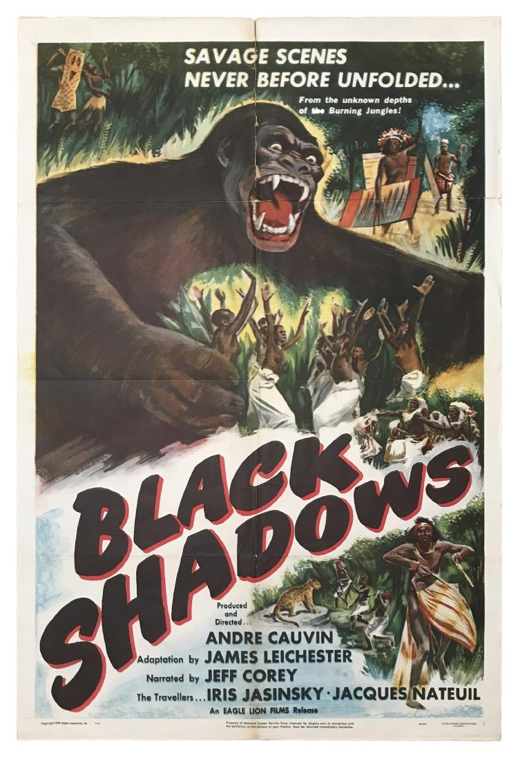 Black Shadows Movie Poster 1949