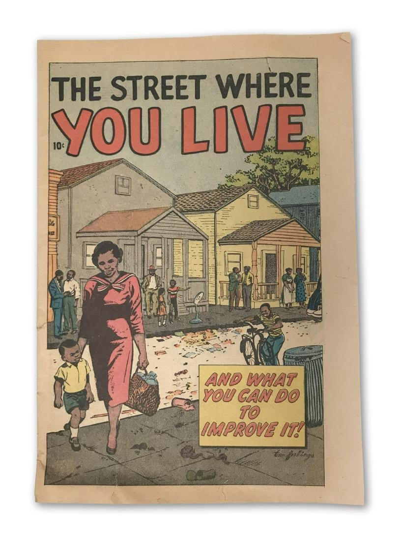 The Street Where You Live Comic released by the NAACP