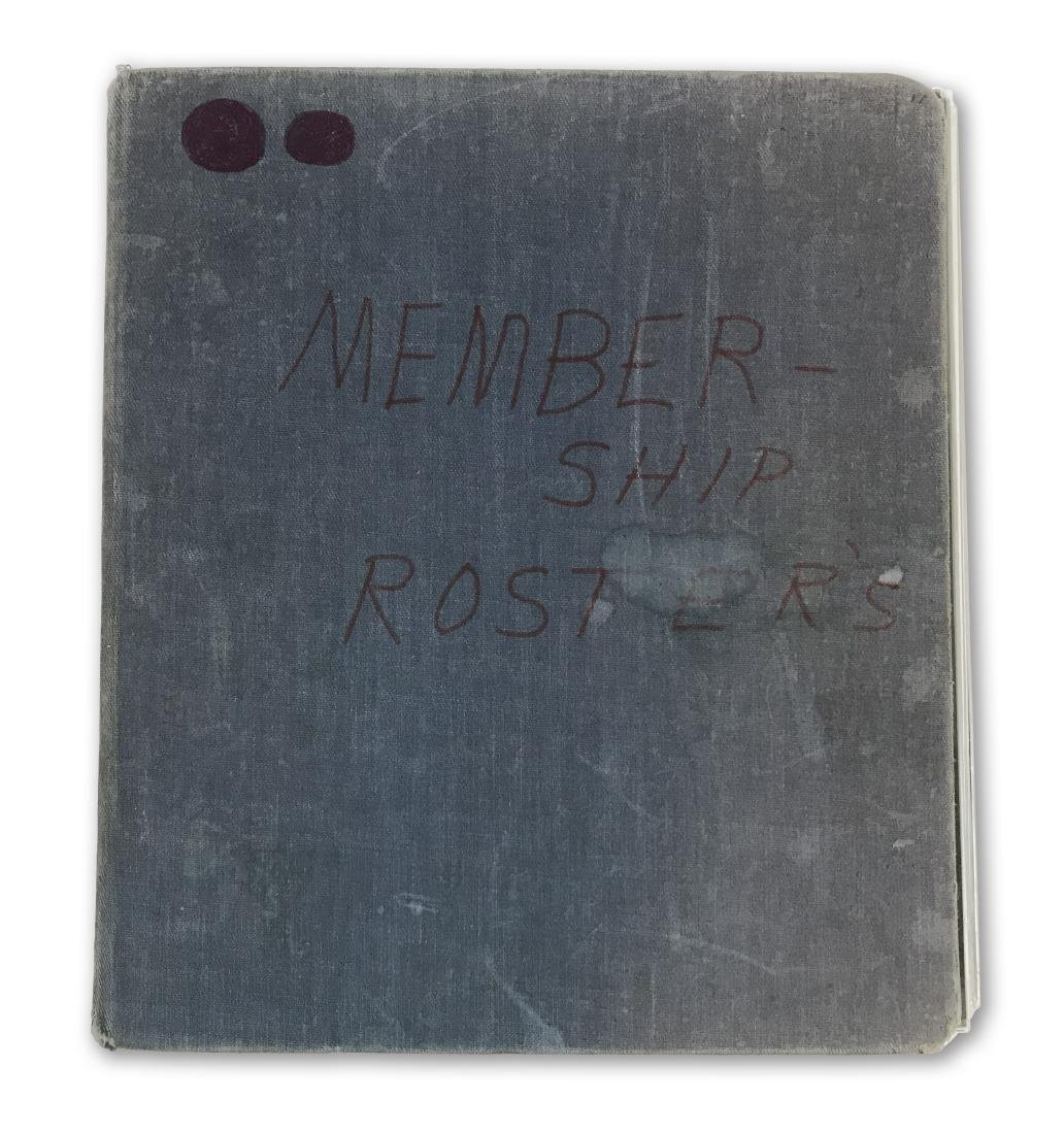 """Vintage """"Membership Roster,"""" a guide to Islam"""