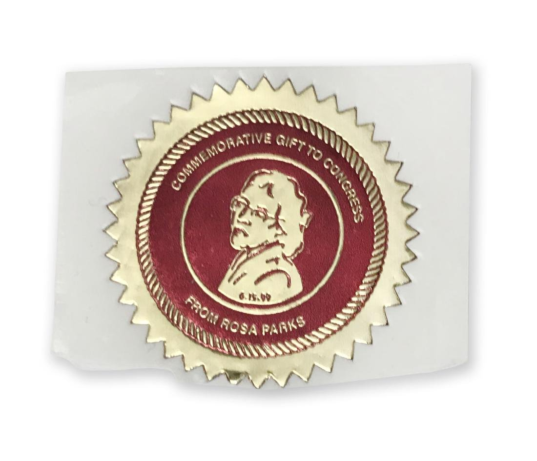 Rosa Parks Commemorative Seal with Sketches - 4