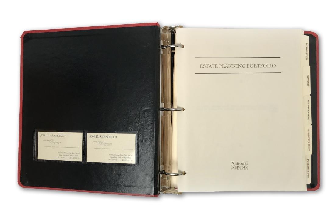 Rosa Parks' Estate Planning Portfolio, signed documents - 2