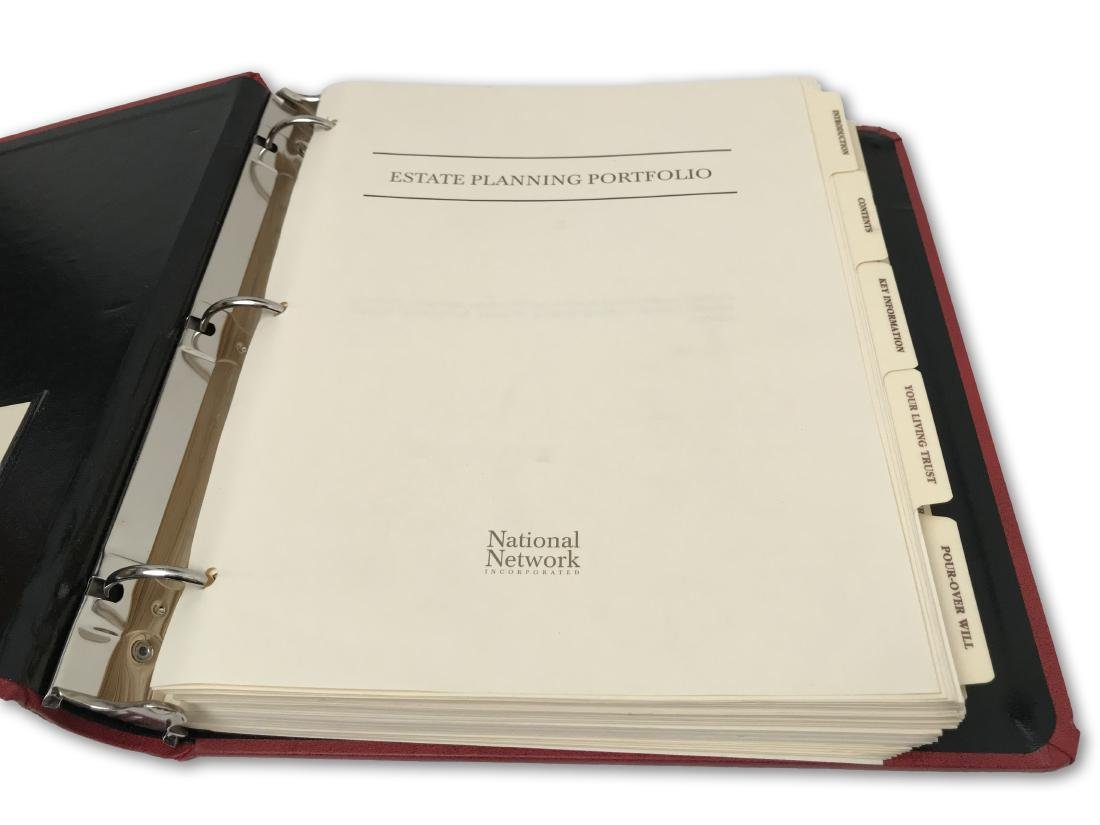 Rosa Parks' Estate Planning Portfolio, signed documents - 3