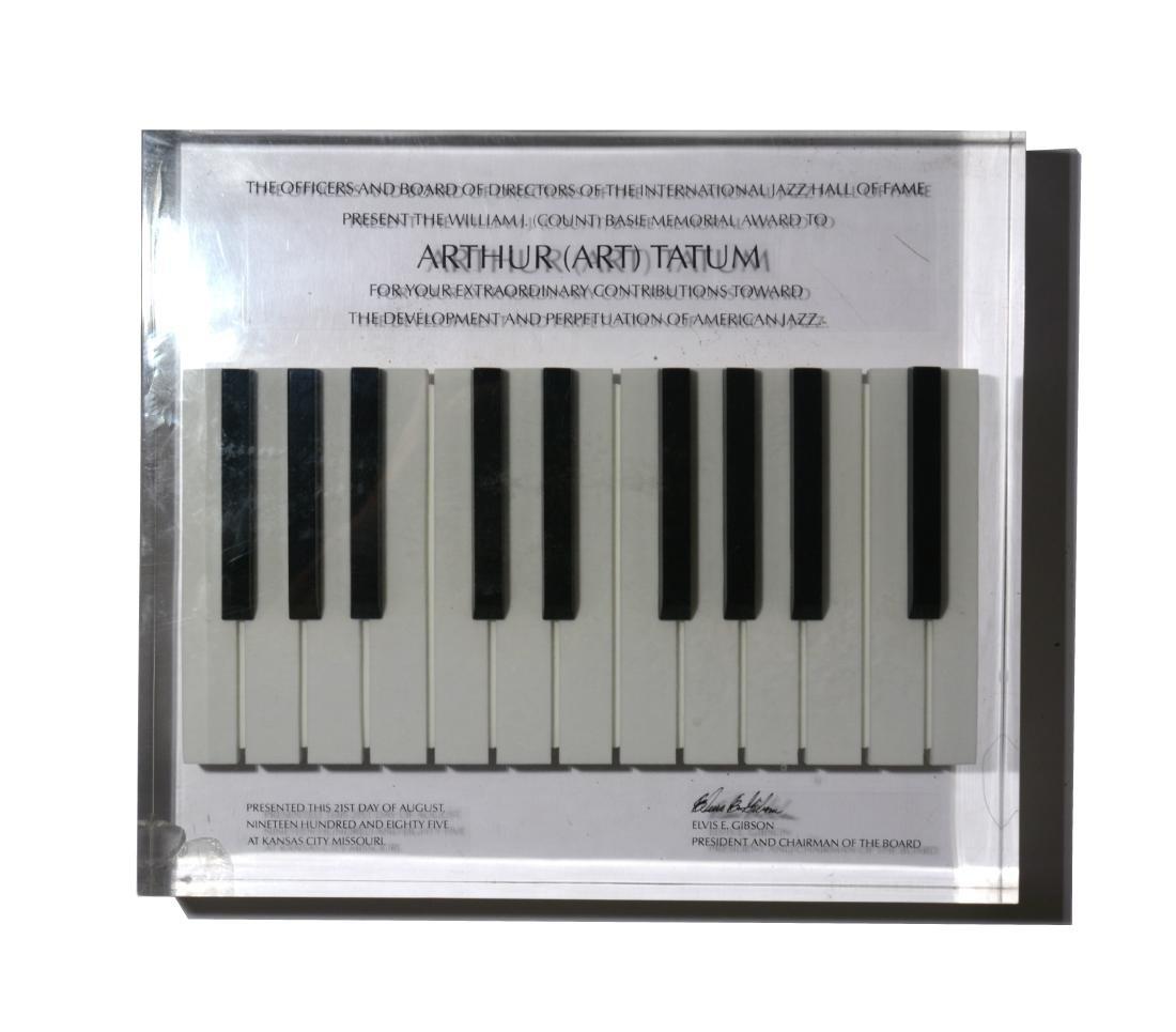 Art Tatum International Jazz Hall of Fame Award