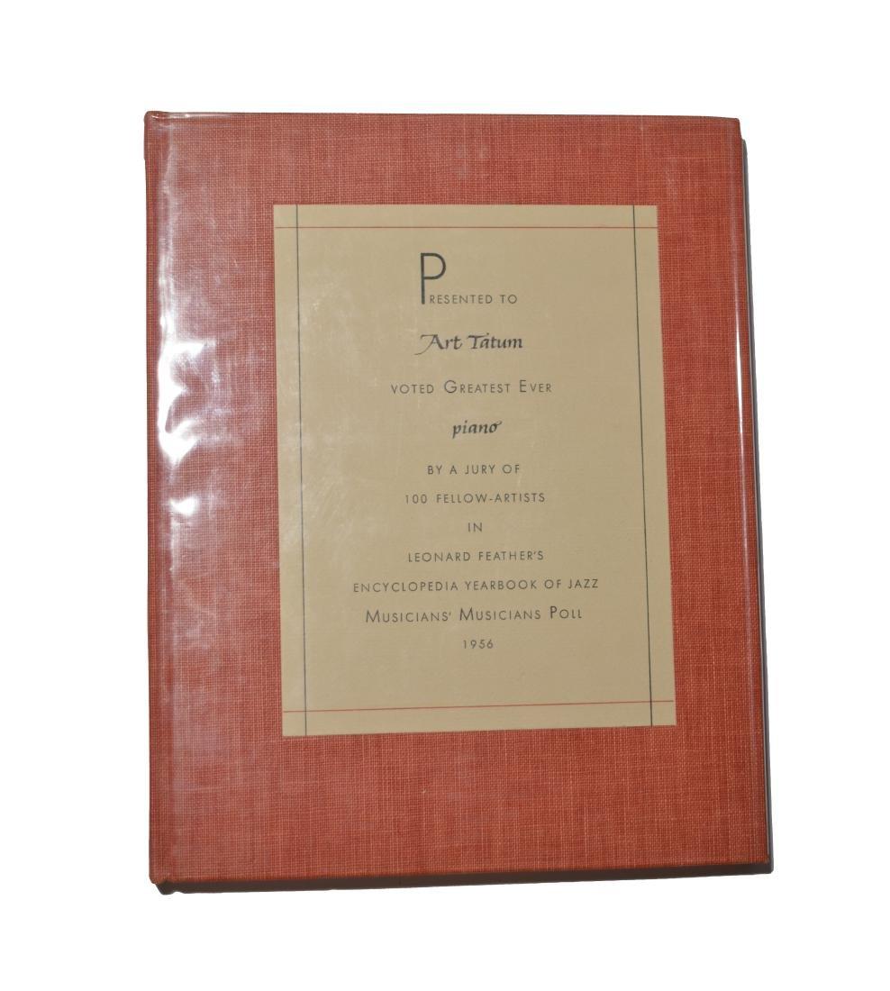 Yearbook of Jazz Presented to Art Tatum