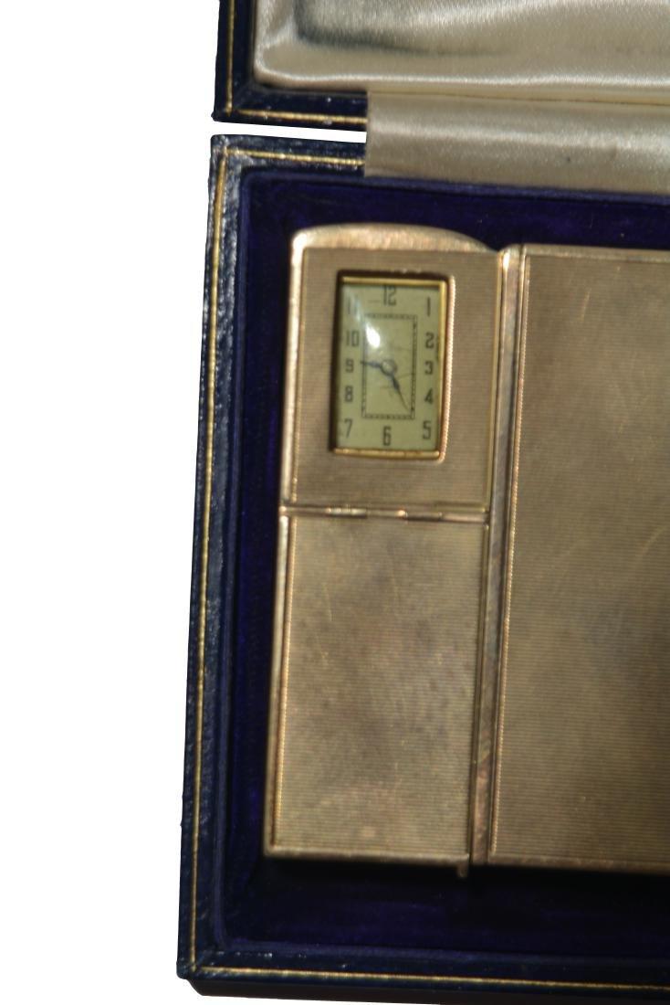 Art Tatum's Dunhill Cigarette Case, Lighter & Watch - 3
