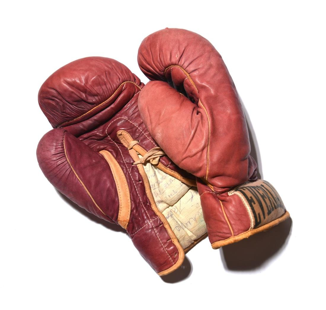 Archie Moore's Championship Boxing Gloves