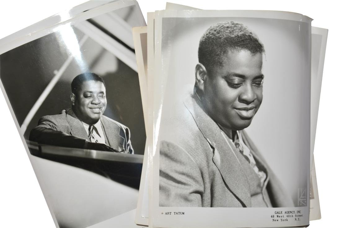 Approx 25 Vintage Art Tatum Photographs