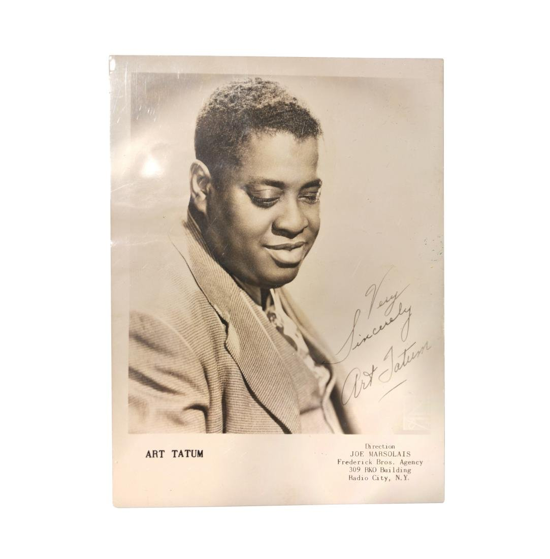 Art Tatum signed Photograph
