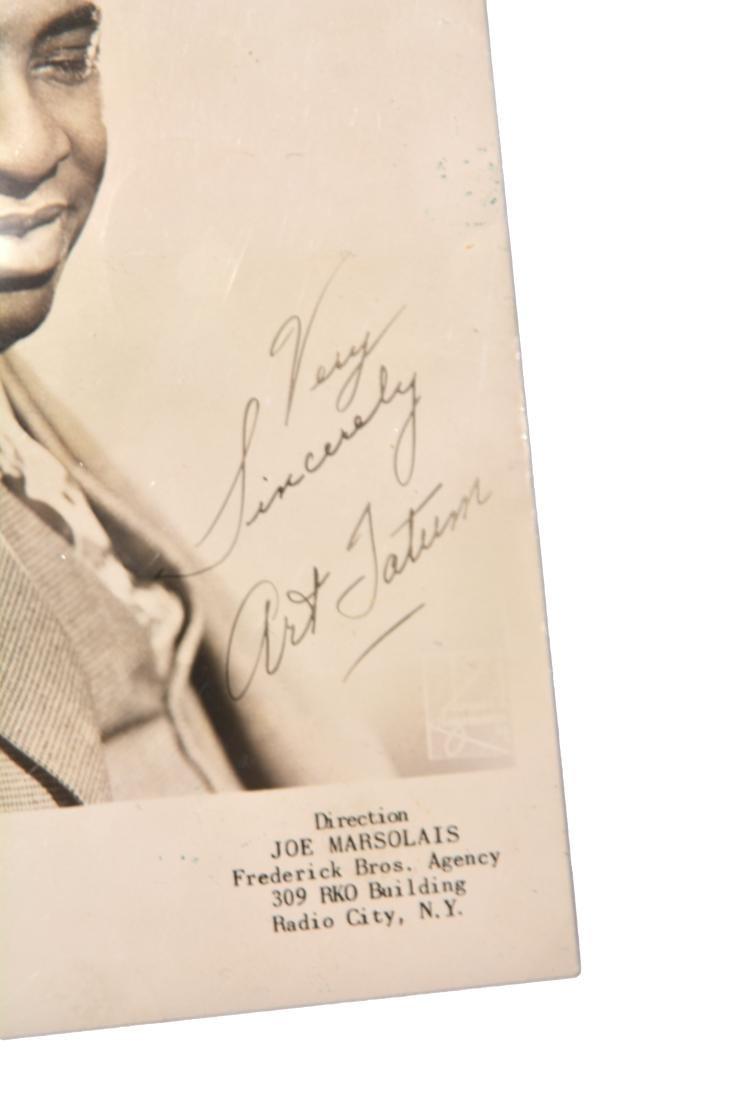 Art Tatum signed Photograph - 2