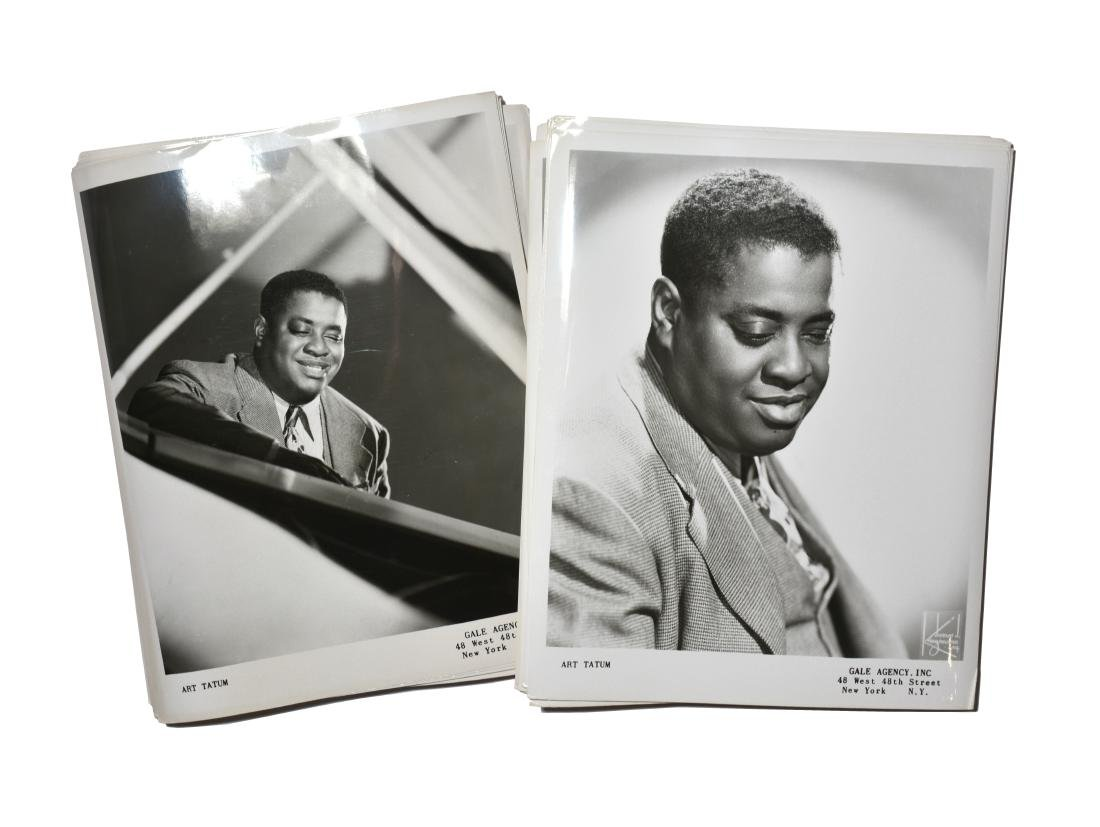 Approx 50 Vintage Art Tatum Photographs