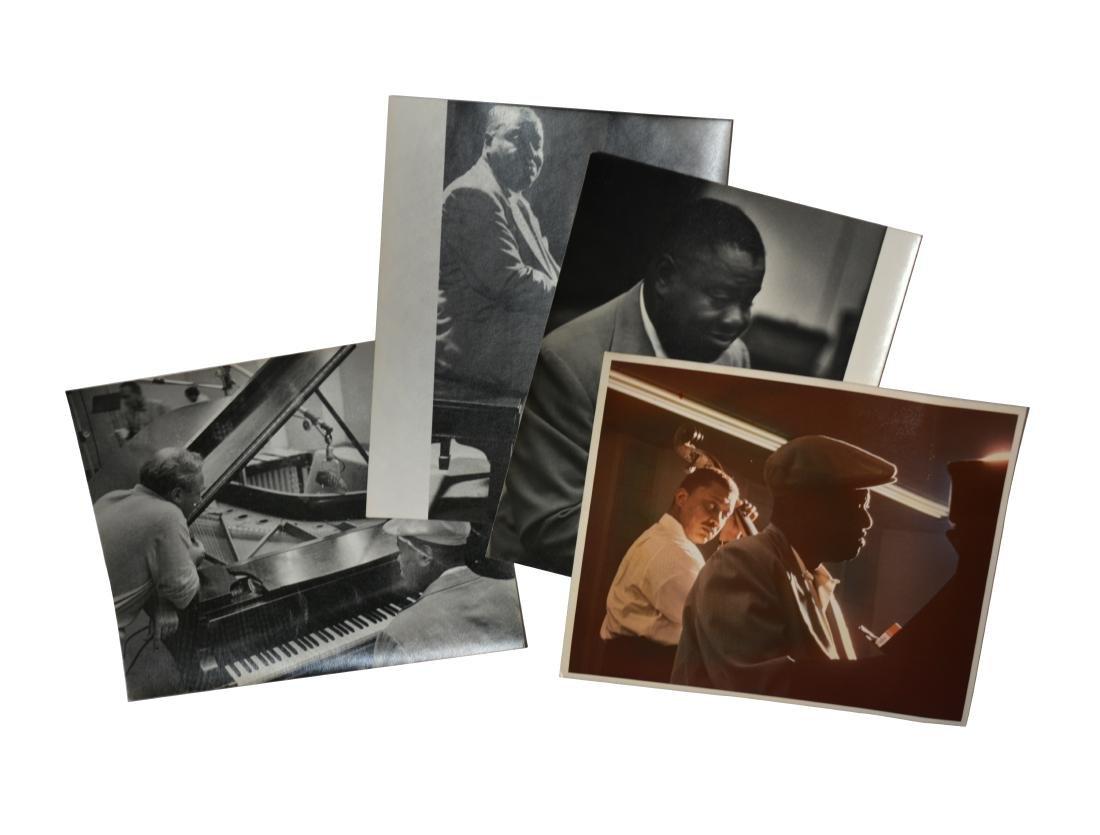 4 Photographs of Art Tatum Performing