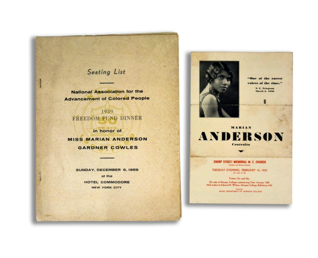 Marian Anderson Collection - 5