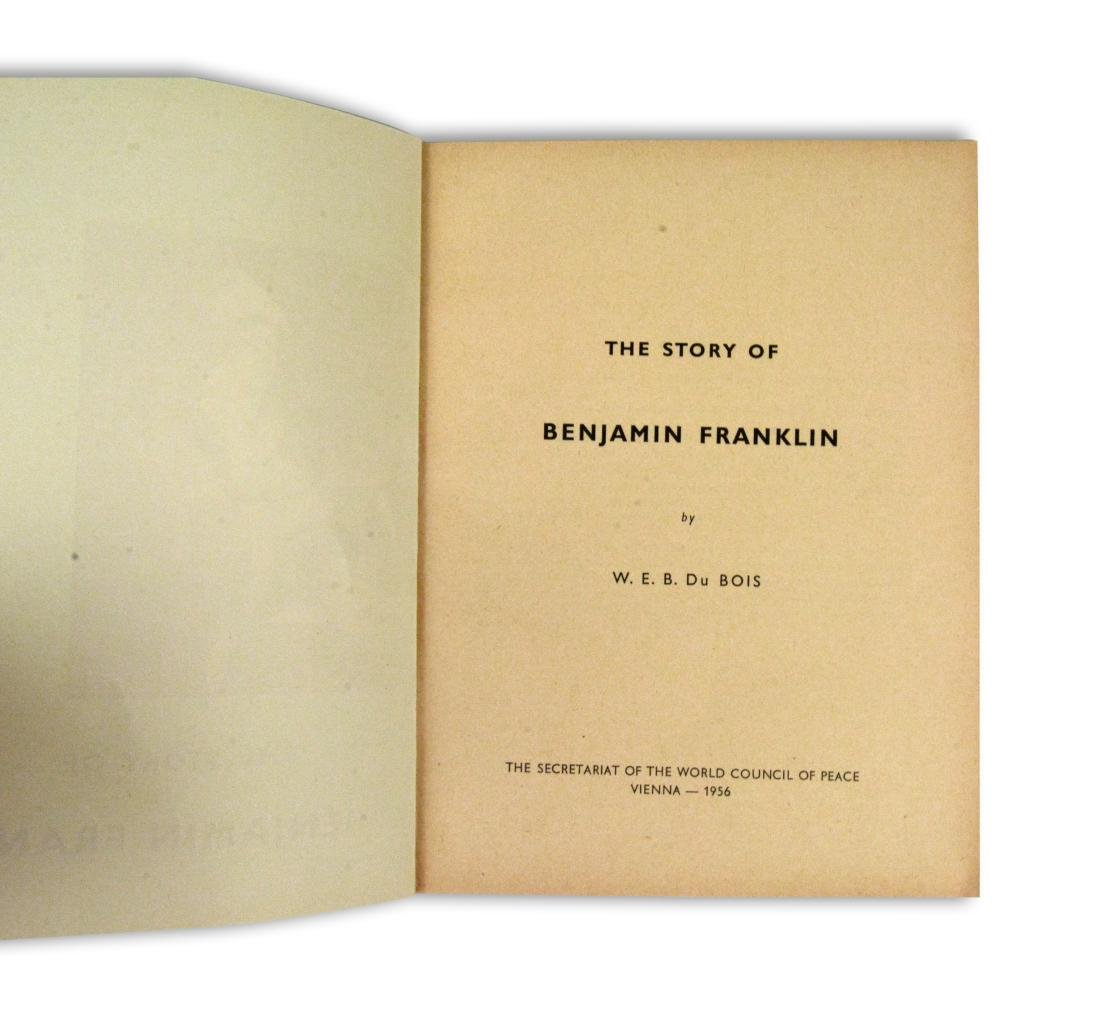 W.E.B. DuBois Pamphlet with accompanying letter - 2