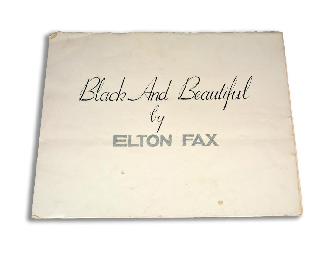 """Black and Beautiful,"" Elton Fax"