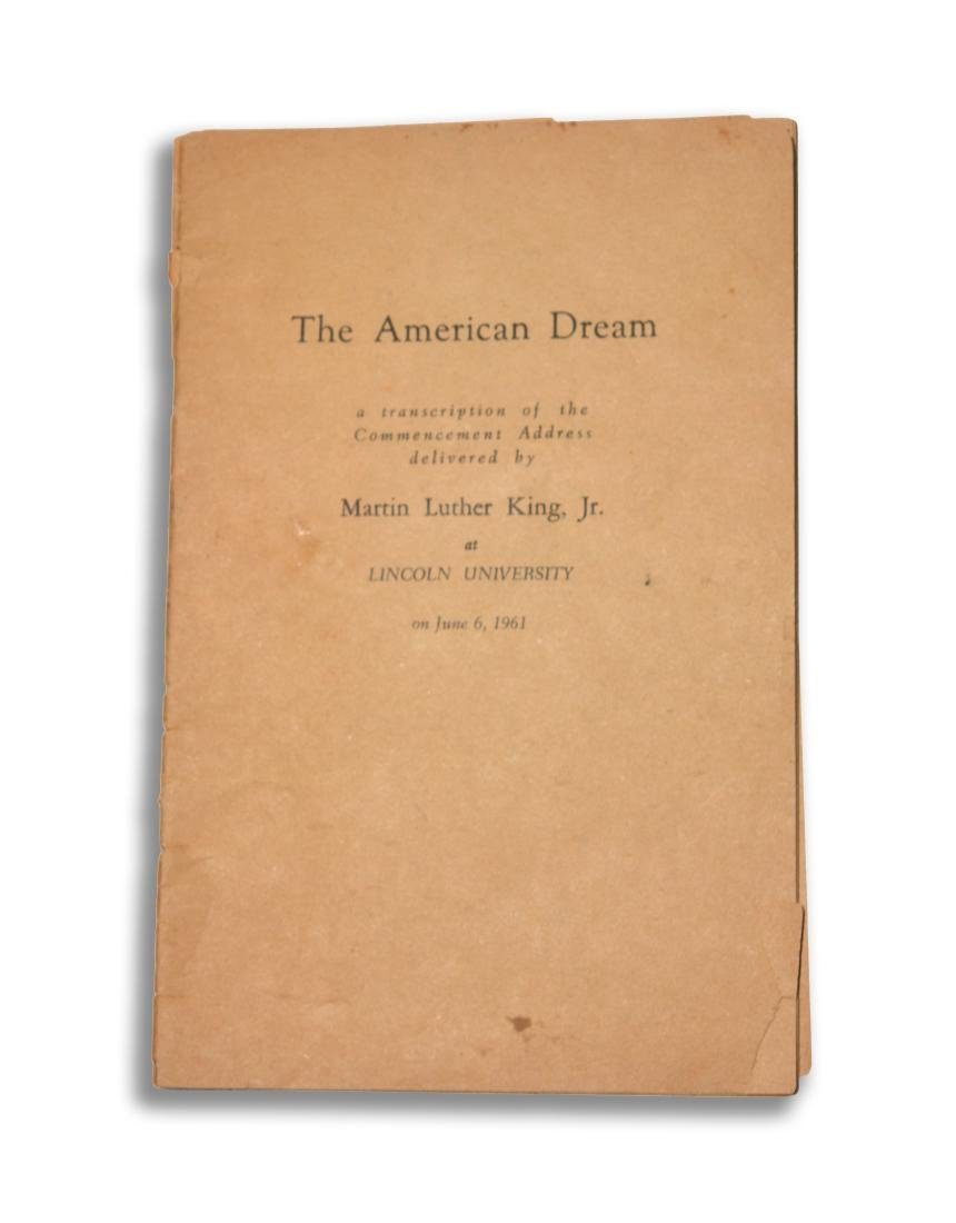 """The American Dream,"" Martin Luther King, Jr."