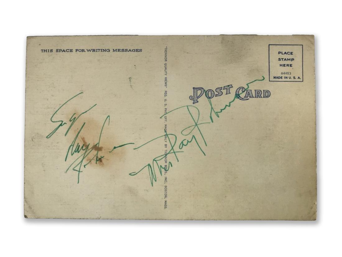 Sugar Ray Robinson Autograph - 4