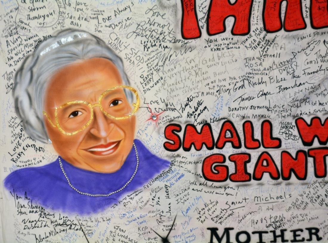 Rosa Parks' Funeral Banner - 2