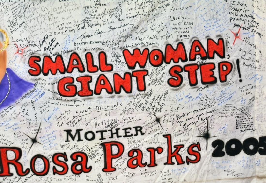 Rosa Parks' Funeral Banner - 4