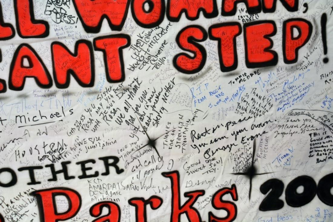 Rosa Parks' Funeral Banner - 6