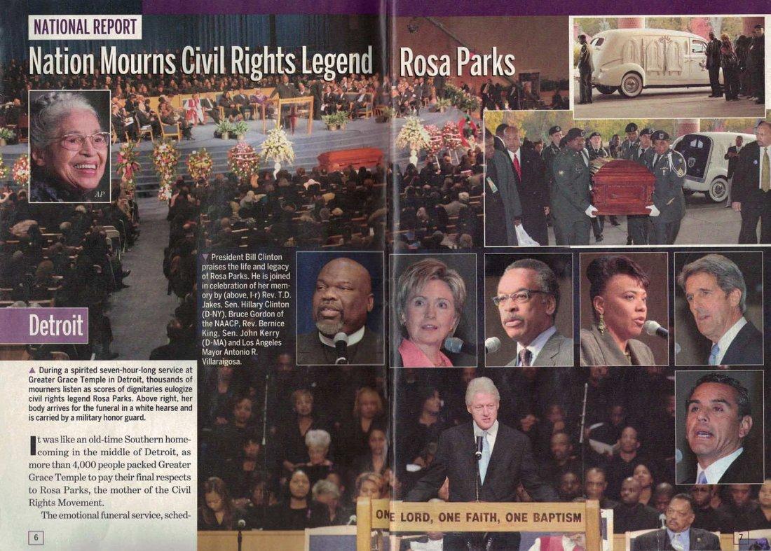 Rosa Parks' Funeral Banner - 8
