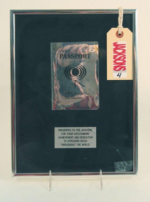 4: The Jacksons Passport Award
