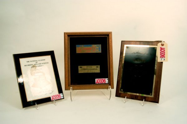 5: Collection of Jackson Family Awards