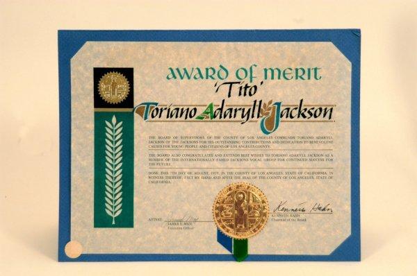 11: Tito Jackson Civic Merit Awards