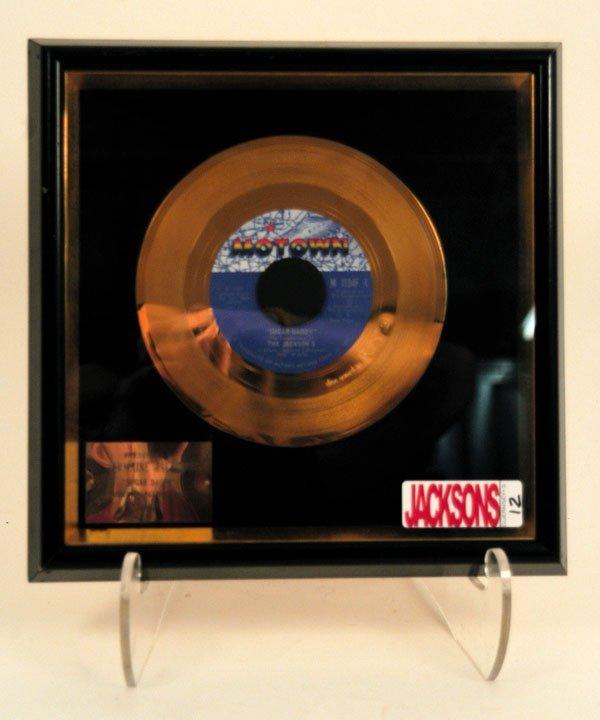 "12: Jermaine Jackson's ""Sugar Daddy"" Gold Single, 1971"