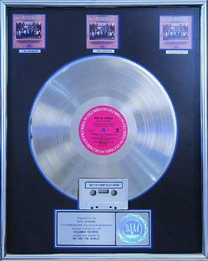 "19: The Jacksons' ""We Are The World"" Awards, 1985"