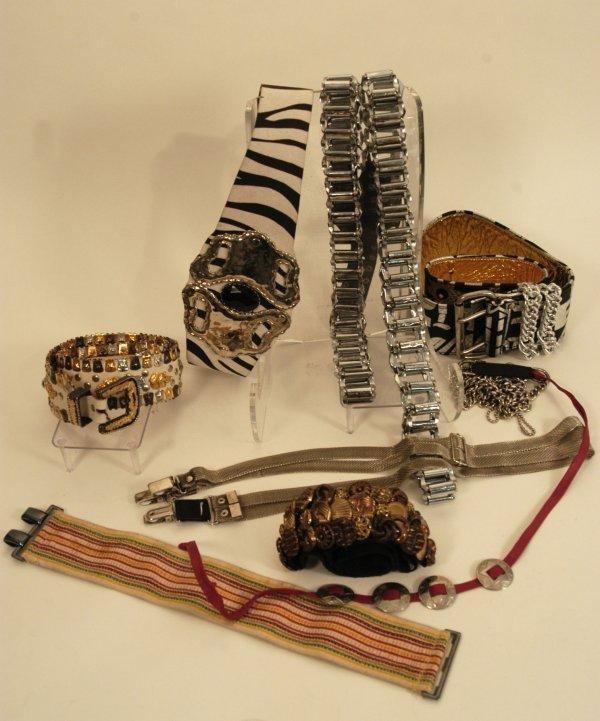 323: La Toya Jackson Collection of Belts