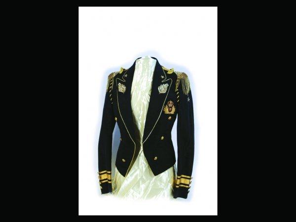 324: Michael Jackson's Black Crested Jacket, 80s