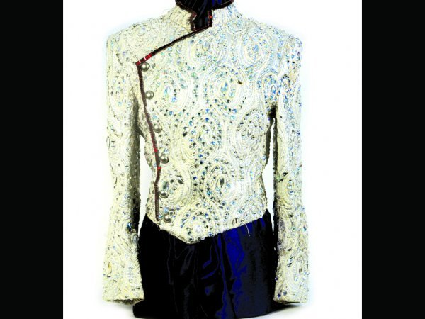 341: Marlon Jackson Glitter Performance Jacket