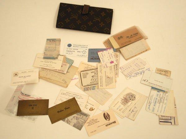 564: LaToya Jackson Wallet and Contents