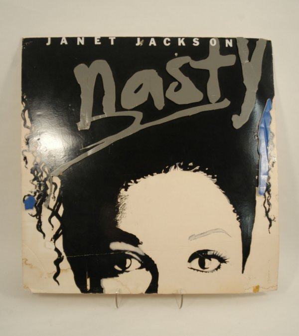 "565:  Janet Jackson ""Nasty"" Promotional Display"