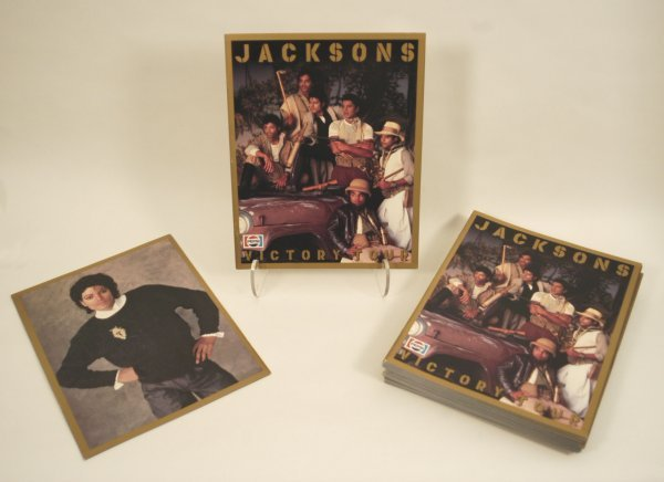 571: Jacksons 1984 Victory Tour Programs