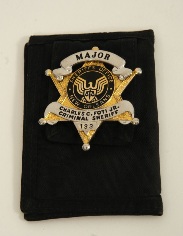 573: Jermaine Jackson Sheriff's Wallet with IDs and Bad - 2