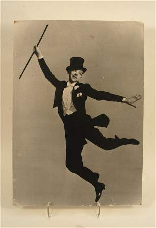 579:  Fred Astaire Poster, 1978